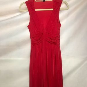 Banana Republic Cherry Red Dress XS Worn Once